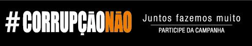 Campanha #CorrupçãoNão
