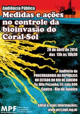 Cartaz audiência publica Coral-Sol